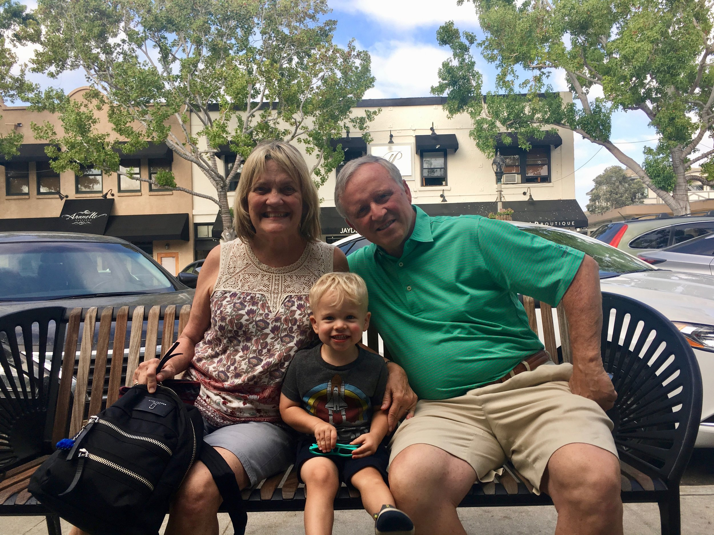 Hanging with the Grandparents in Carlsbad