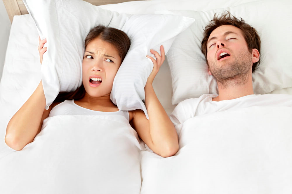 Women Lose 11 Times More Sleep Than Men; New Snoring Research - Infographic
