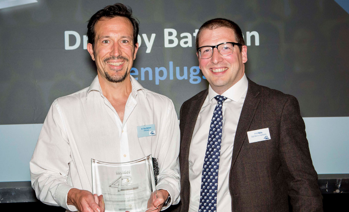 NEWS: ZenPlugs Inventor Dr Toby Bateson Is Awarded Business Insider Entrepreneur Of The Year Award 2018.  Read more...