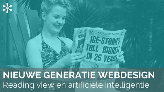 Nieuwe Generatie Webdesign AI