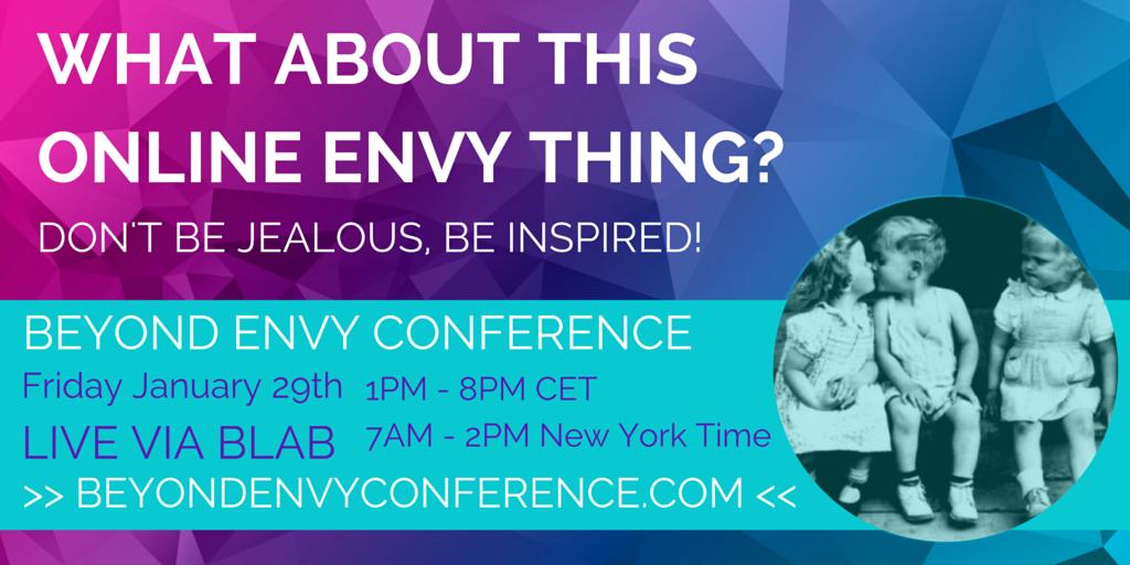 Beyond Envy Conference 2016 banner