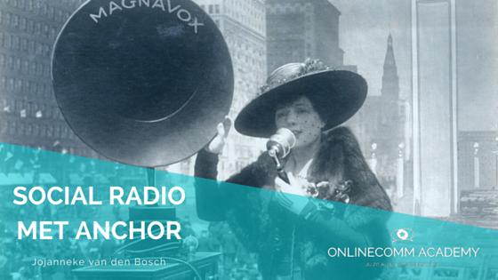 anchor social radio