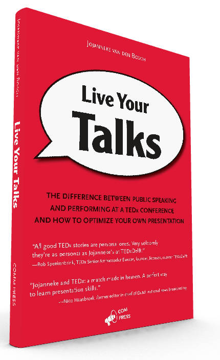 My book on preparing for TEDx.