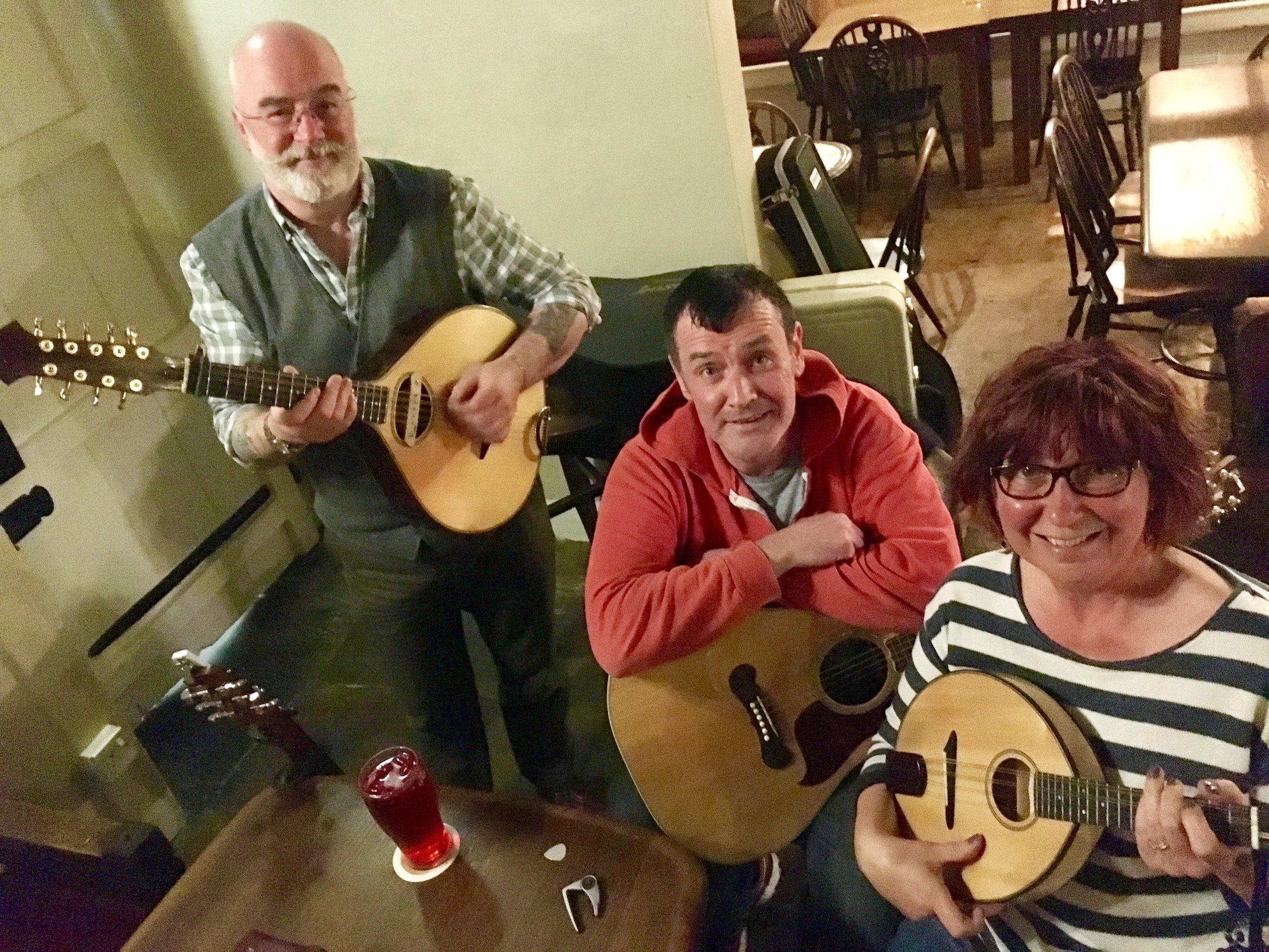 Brian, John-Paul and Kath
