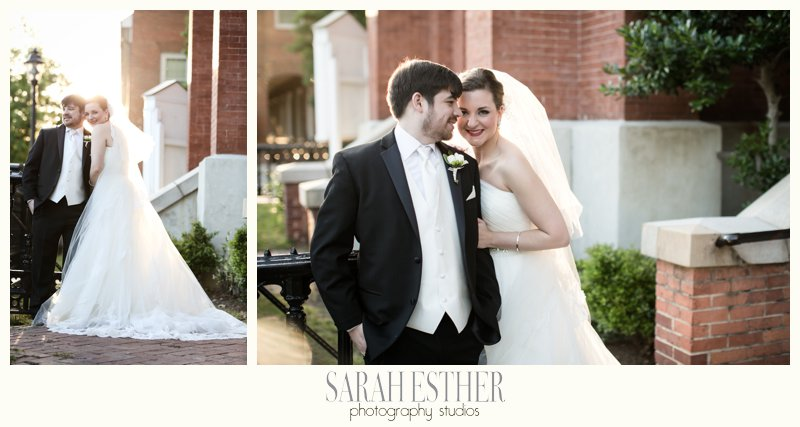 Oh the gorgeous Georgia light. Augusta had the perfect southern charm during the bride and groom portraits that evening.