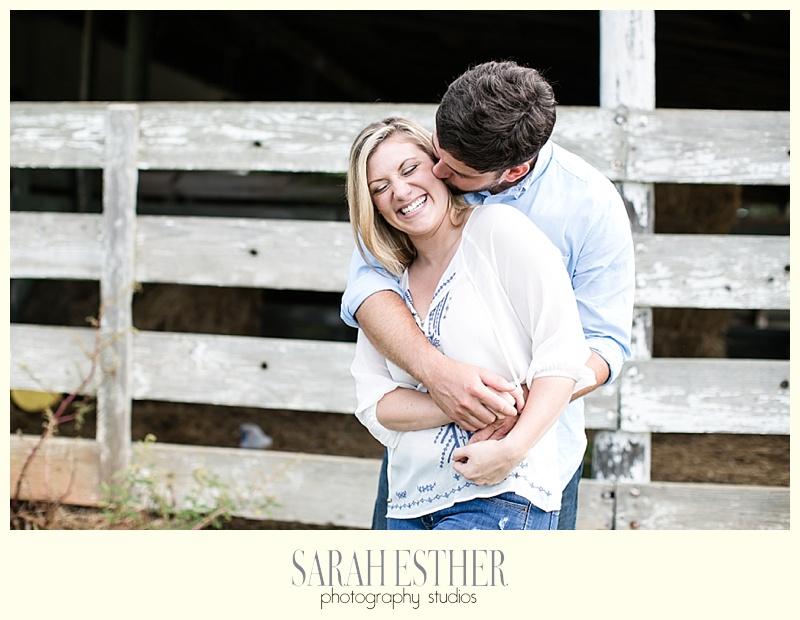 happy couple engagement session atlanta georgia