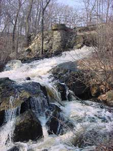 Beaver Brook waterfall