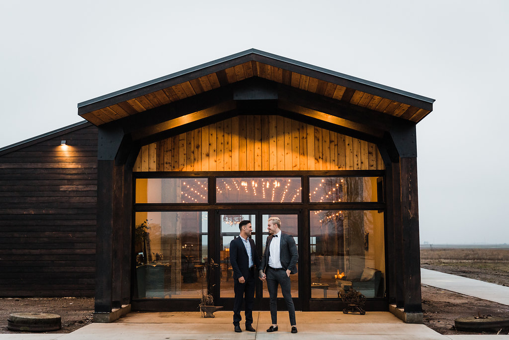Bluestem Hall Same-Sex Styled Shoot in Champaign Illinois