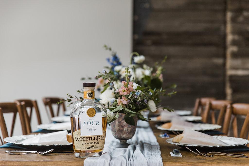 bluestem hall tablescape wedding masculine nature navy gold.jpg