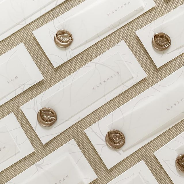 Things that never fail : busy days that correspond to no nap days for miss Ruby.  Somehow the repetition of these wax seals are soothing to my frustrated mom brain 😅 and thankfully @mattcavanagh came home at normal time. 😘 #waxseal #peartreeestate #champaignillinois #champaignwedding #centralillinoiswedding #springwedding #dashwoodweddings