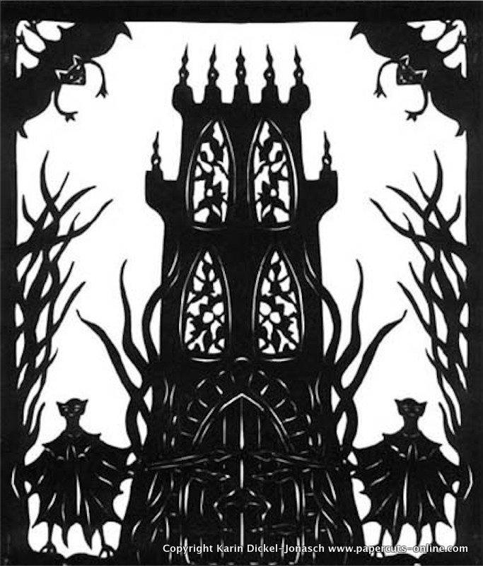 Andraias Turm mit den beiden Fledermauswaechtern.jpg