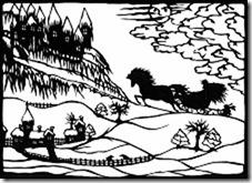 Die Schneekönigin  (Märchen von Hans Christian Andersen und Scherenschnittillustrationen von mir), 62 Seiten