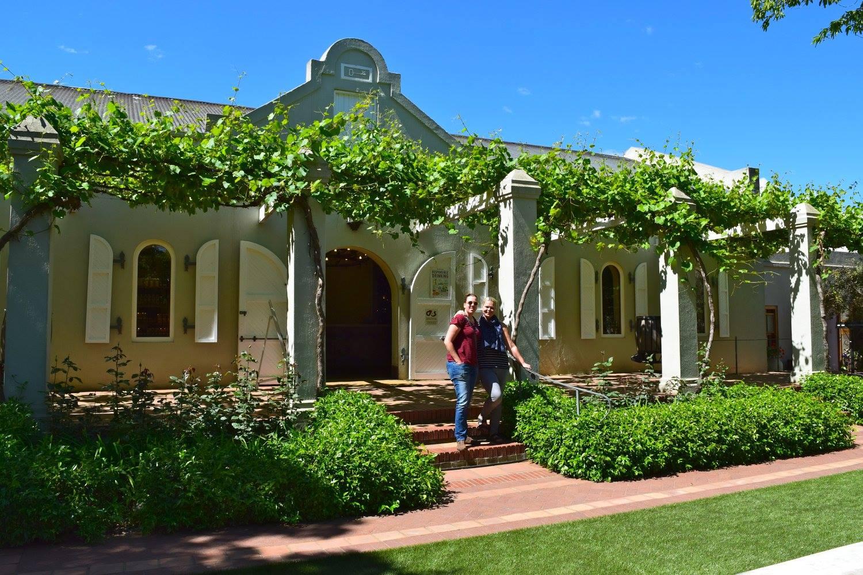 Vineyard in Stellenbosch. Foto: Charlene Niehaus