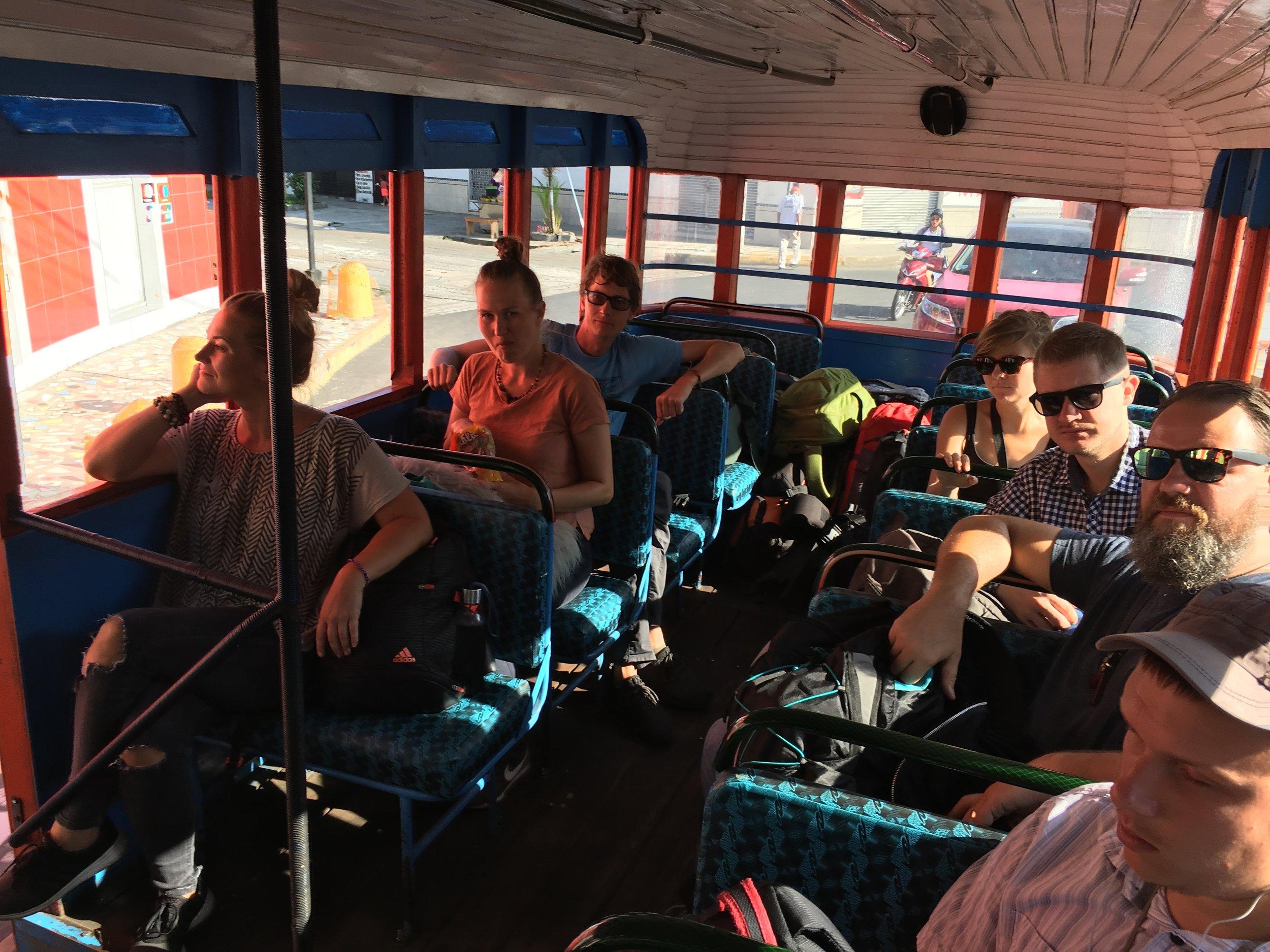Reis ja seiklus on selleks korraks läbi. Meeled aga jätkuvalt sageduses..  Foto: bussijuht /Amazonas Reisid