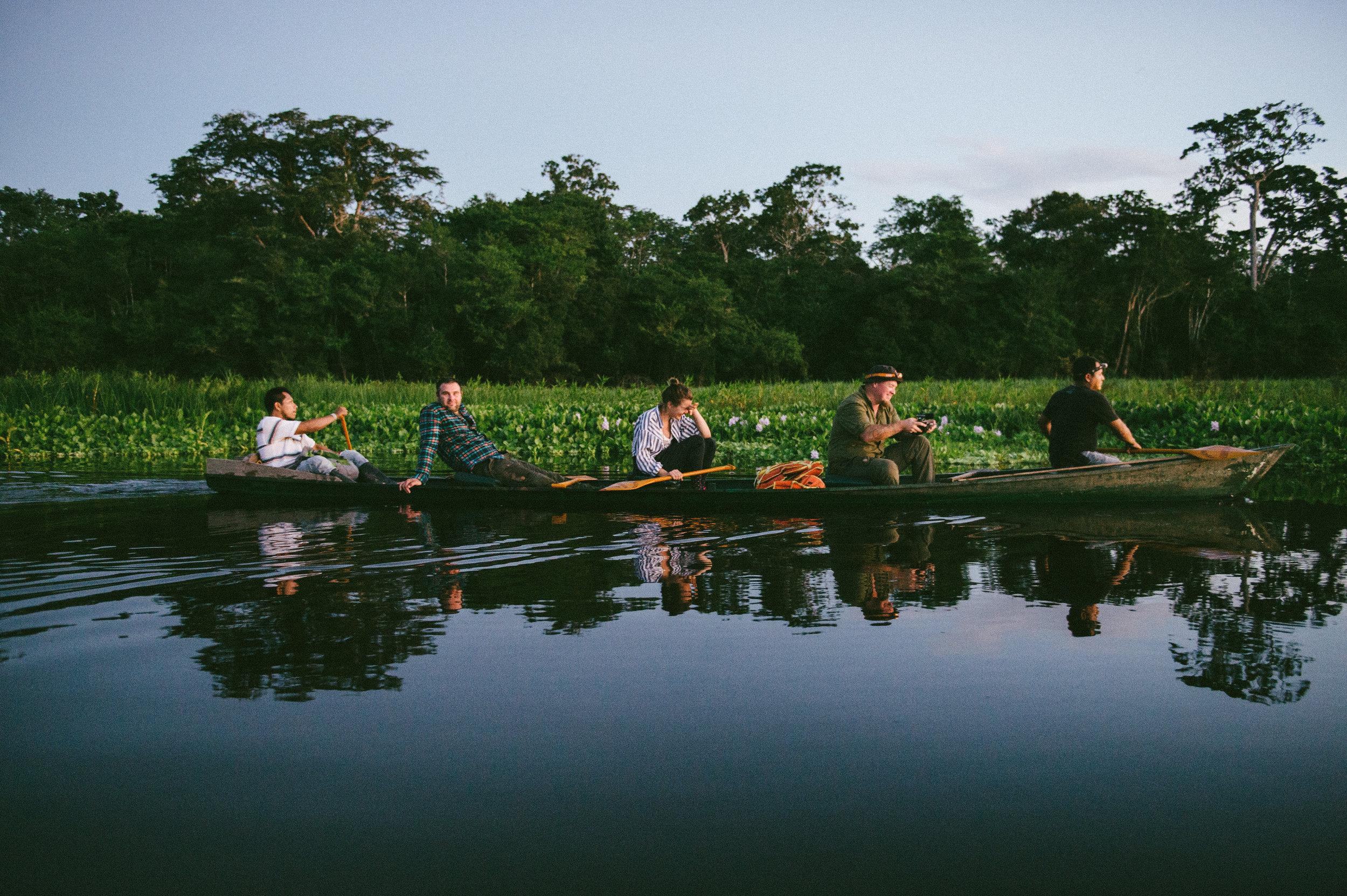 Õhtul Amazonasel. Foto: Stina Kase 2014