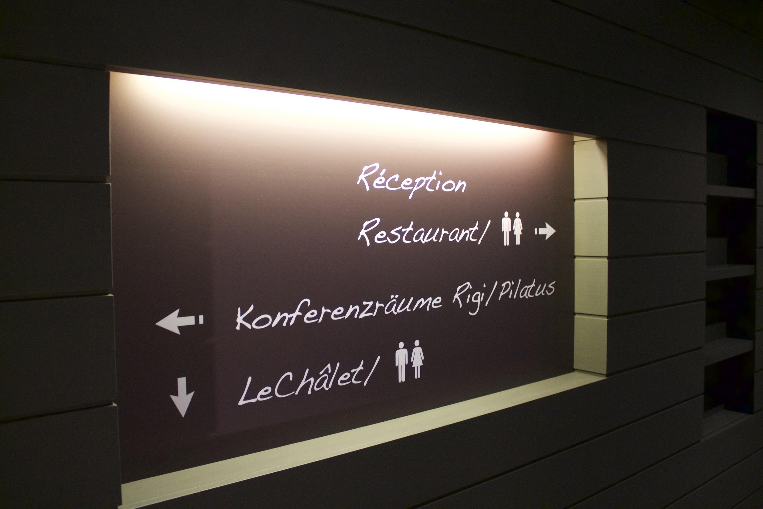 Signaletik Hotel Design