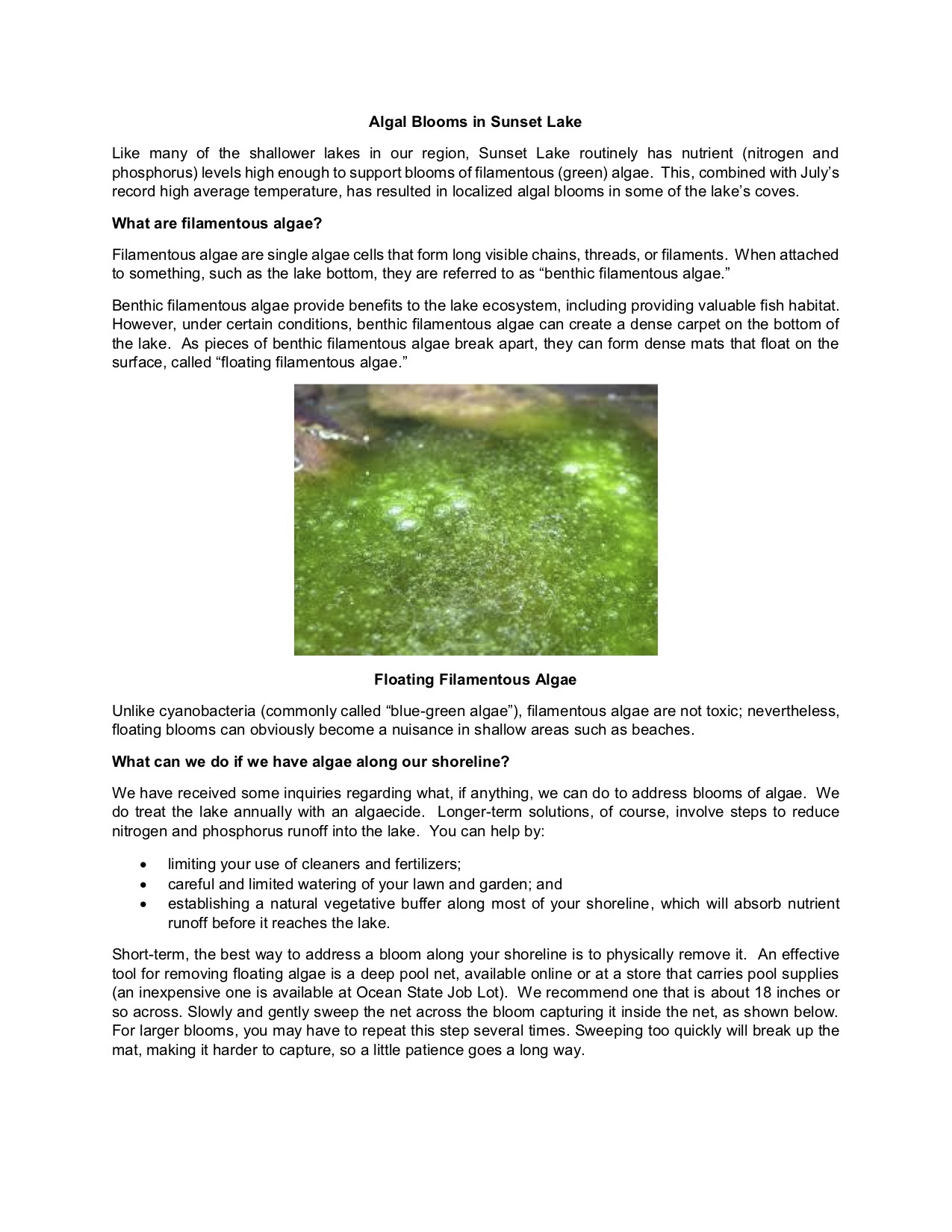 Algal Blooms in Sunset Lake 20190821 page 1.jpg