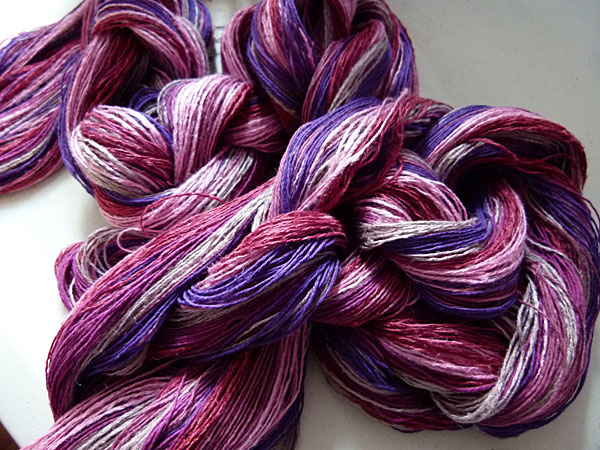 I felt hopeful about my color choices when I saw the warp just off the board.
