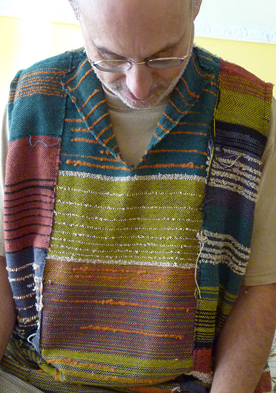 Pullover sleeveless vest