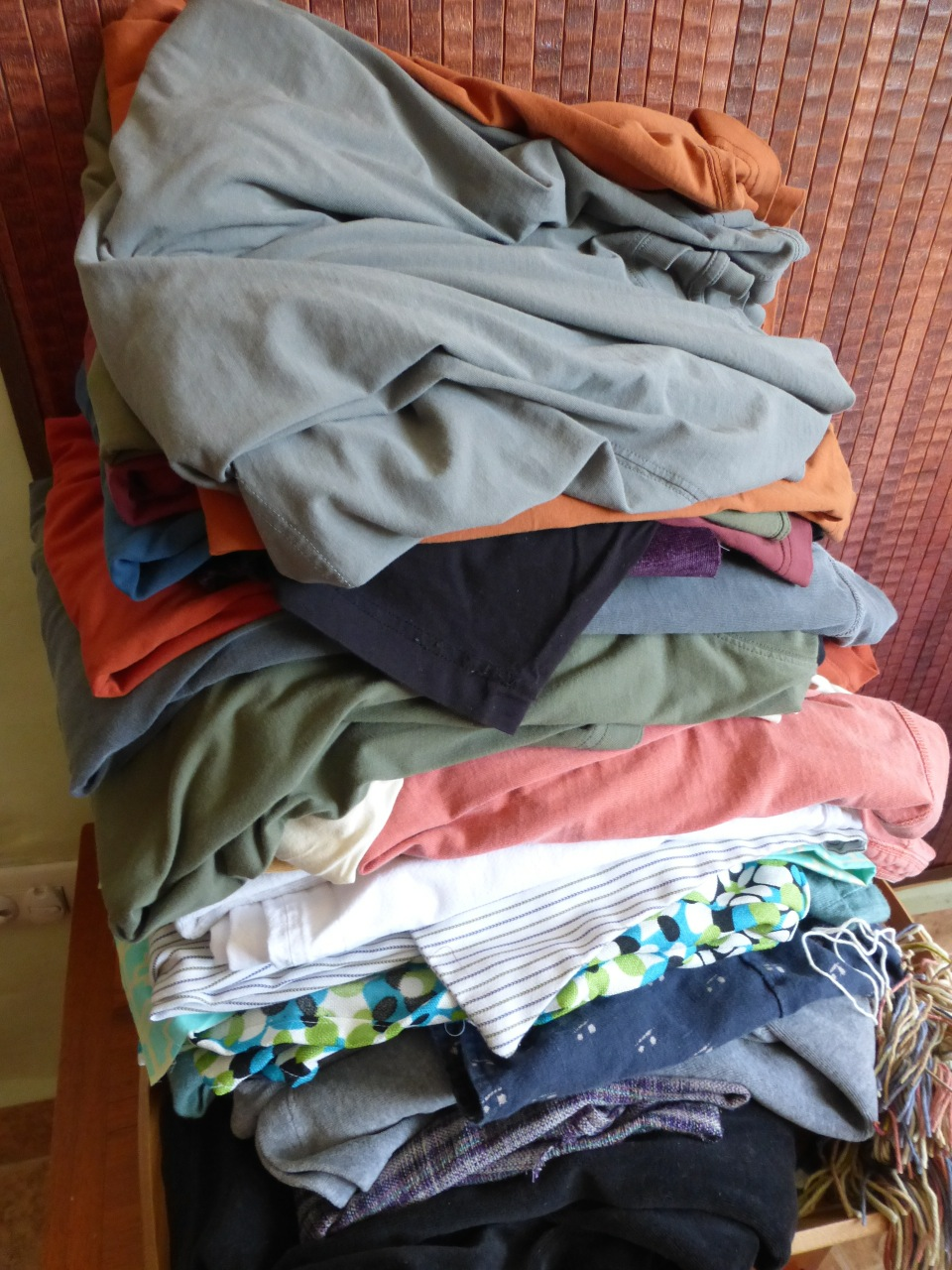 Stack of Old Clothes