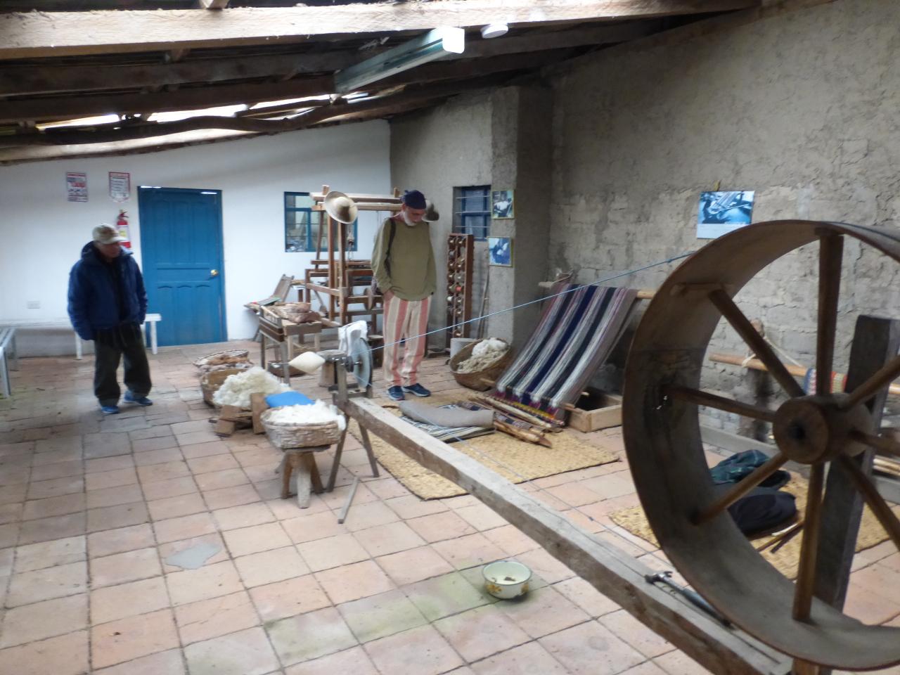 The backstrap loom studio