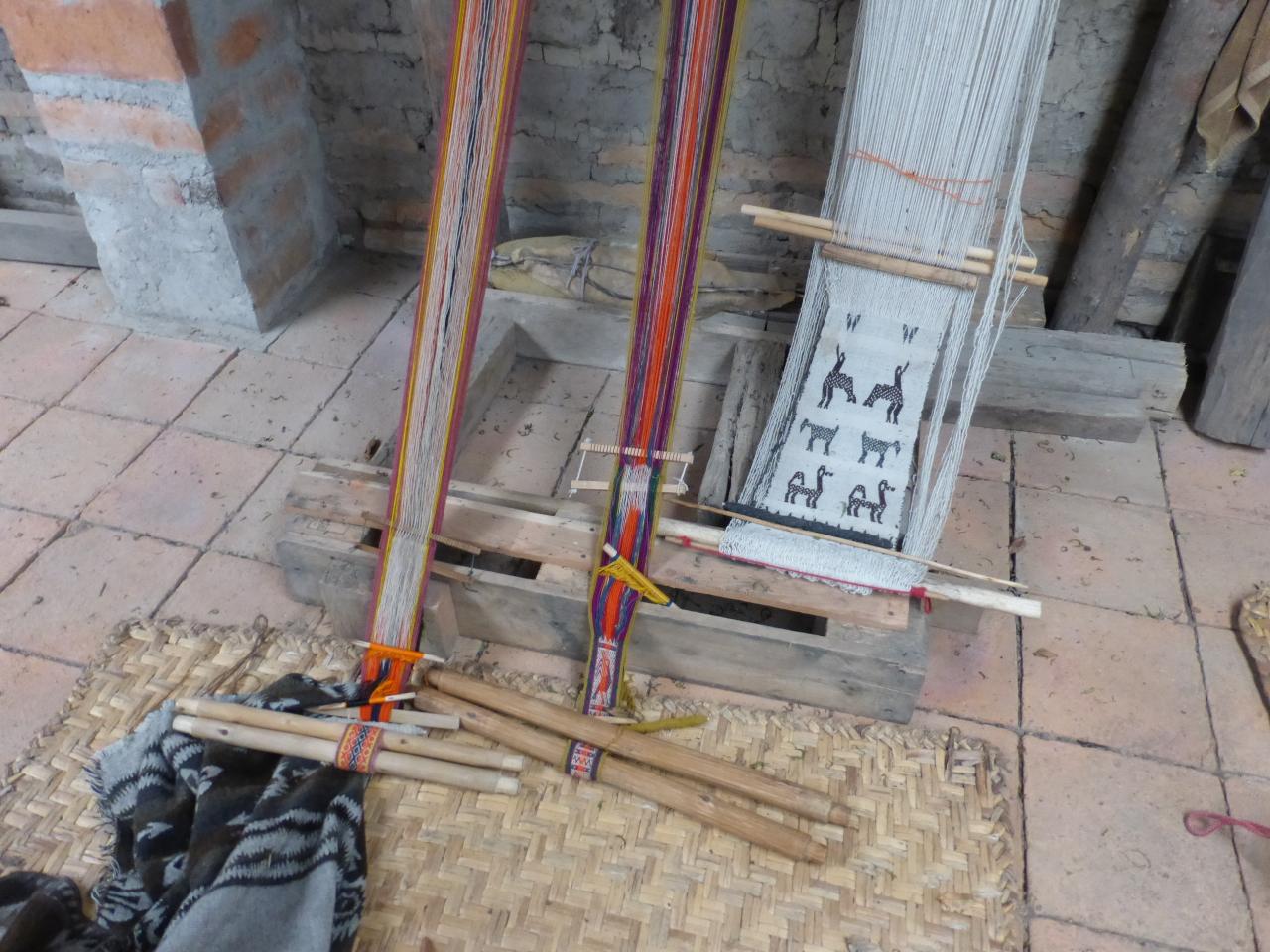Backstrap Strap Weaving