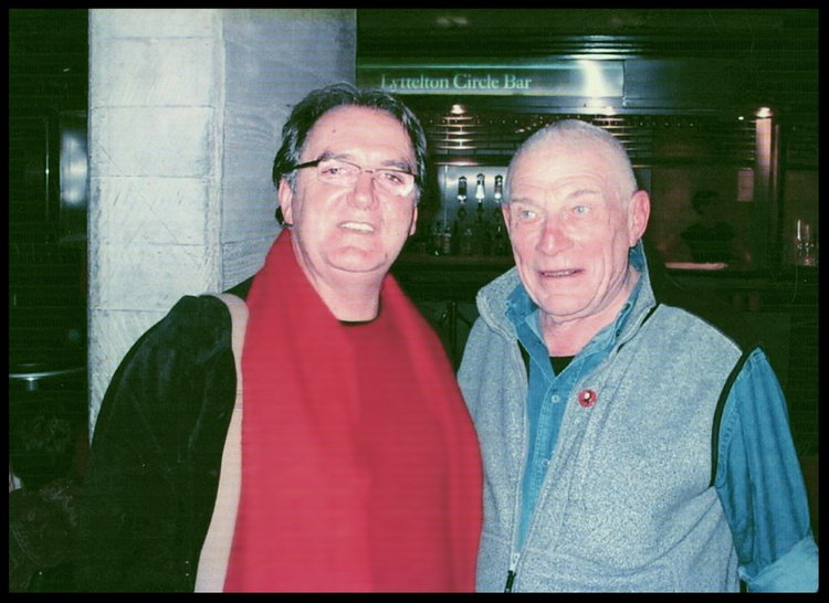 Keith and John Berger @ the Royal National Theatre London. I gave him my Badge of Che Guevara    John gave all photographers from My Generation Inspirational to make images of energy x substance he is truly missed.