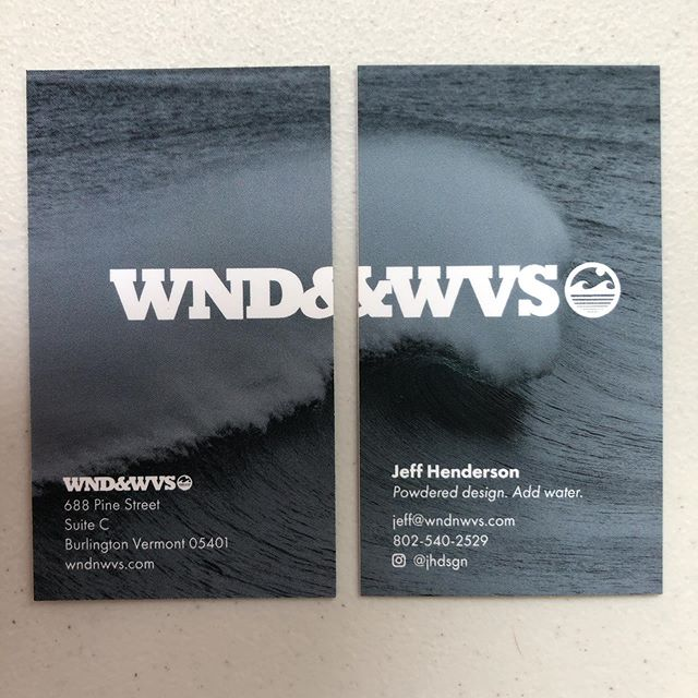 New biz cards for the shop! @wndnwvs