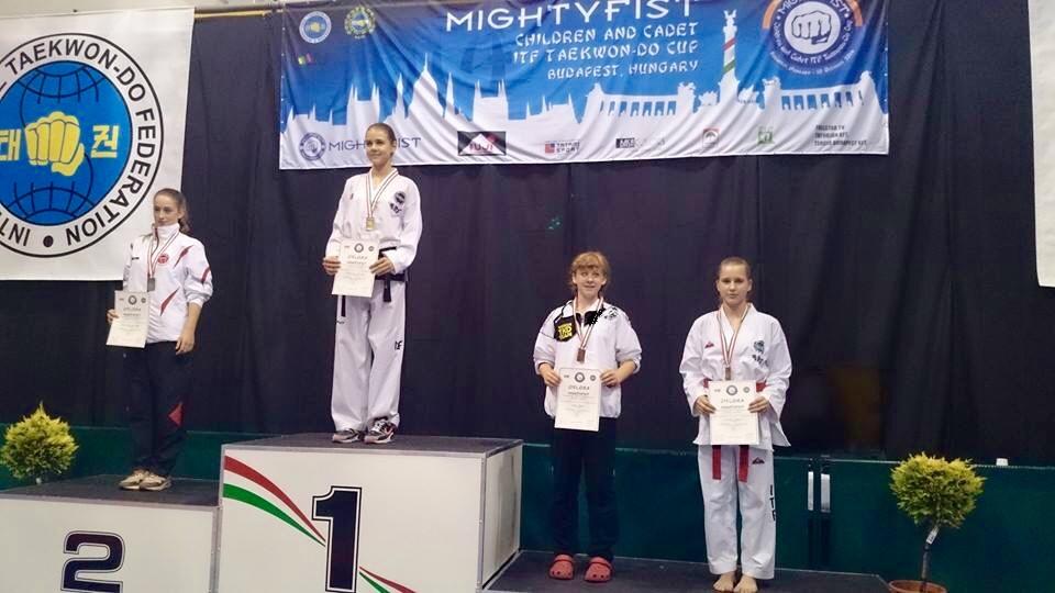Taekwondo Bronze in Budapest — Tonbridge Grammar School