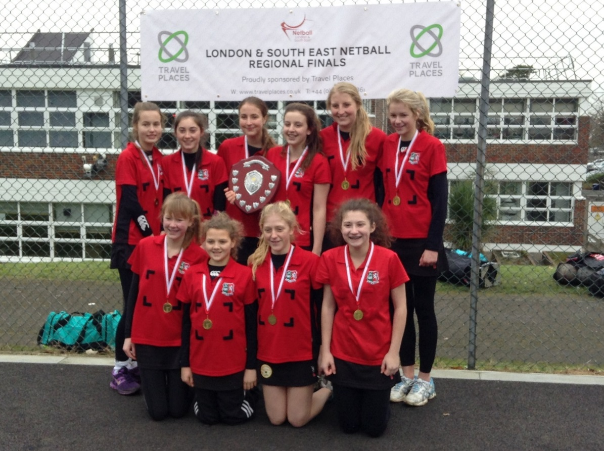 The U14 team – Holly Price, Chantelle Gunter, Ellie Ramsey, Frankie Hay, Holly Hayward, Abby Ward, Annabelle Knight, Jasmine Poole, Jade Barter and Monique Gunter.