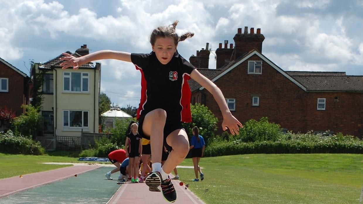 Sports Day 2016 Tonbridge Grammar School