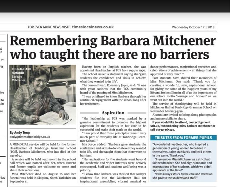 Times of Tonbridge Remembering Barbara Mitchener.jpg