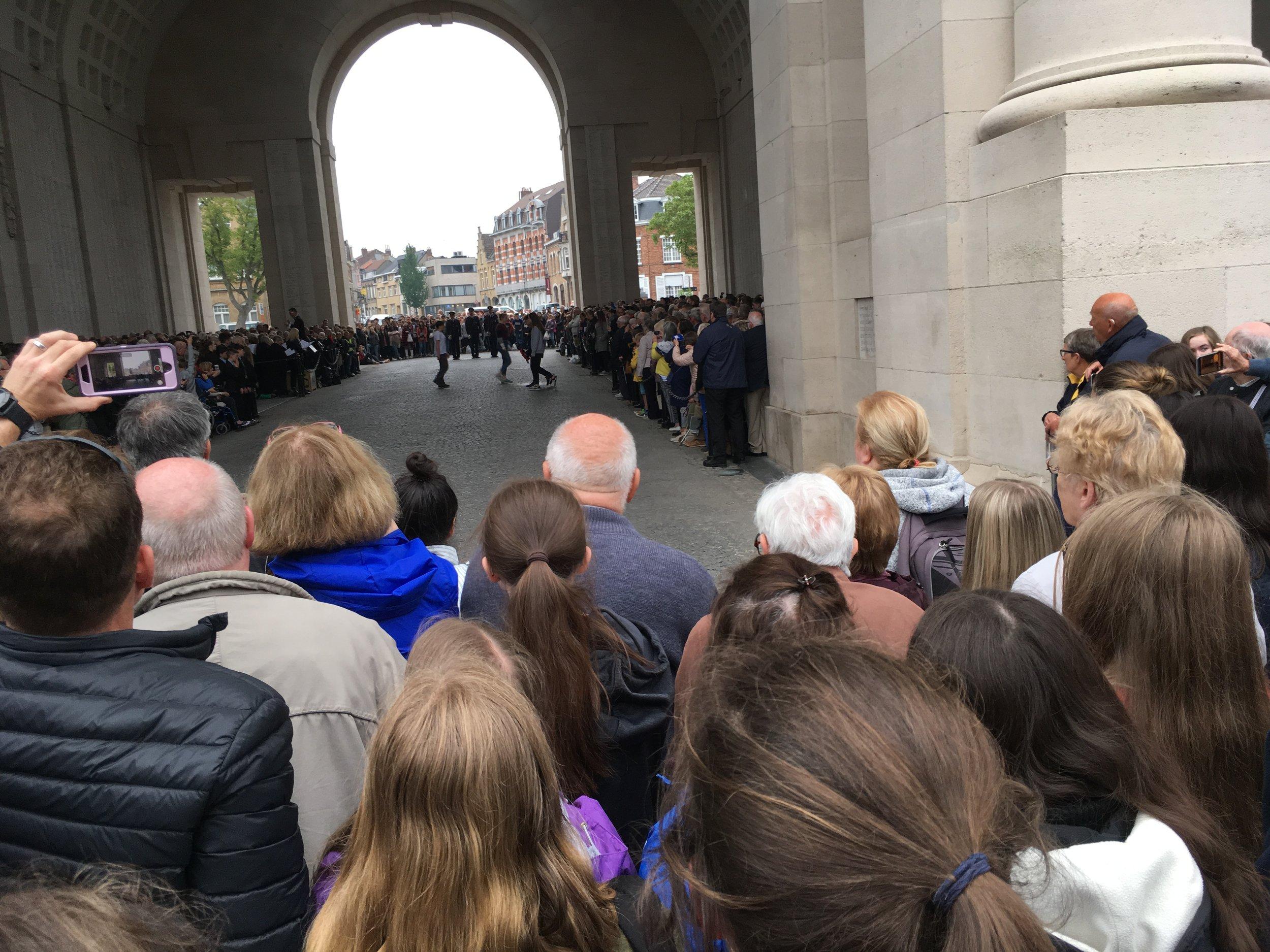 Menin Gate Last Post Ceremony