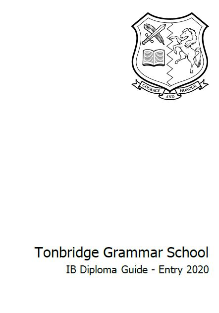 IB Diploma Subject Guide for 2020 Entry