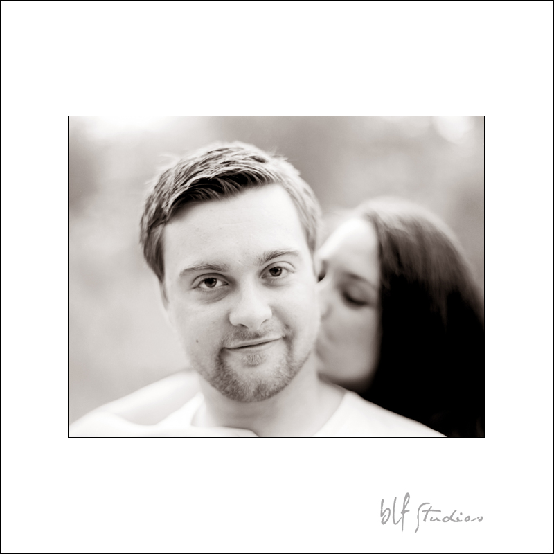 Winnipeg engagement photography on Fuji film