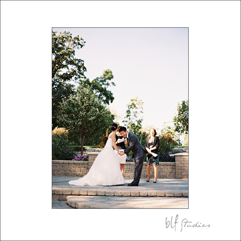 Outdoor wedding venue in Winnipeg