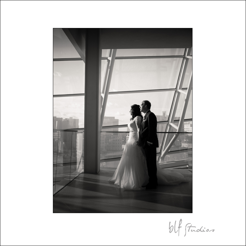 Canadian Museum for Human Rights wedding photos