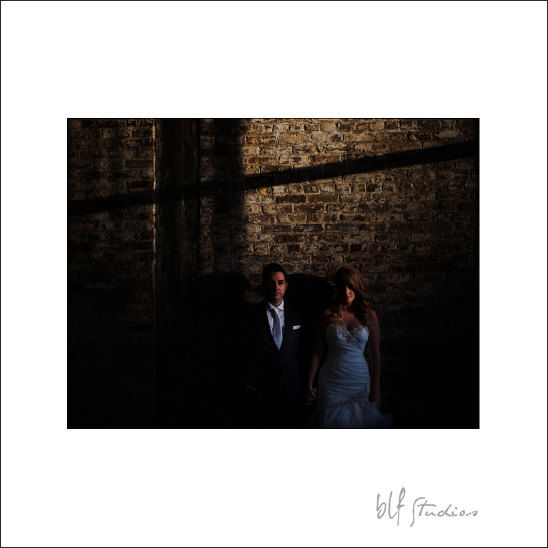 Manitoba wedding photos in winter