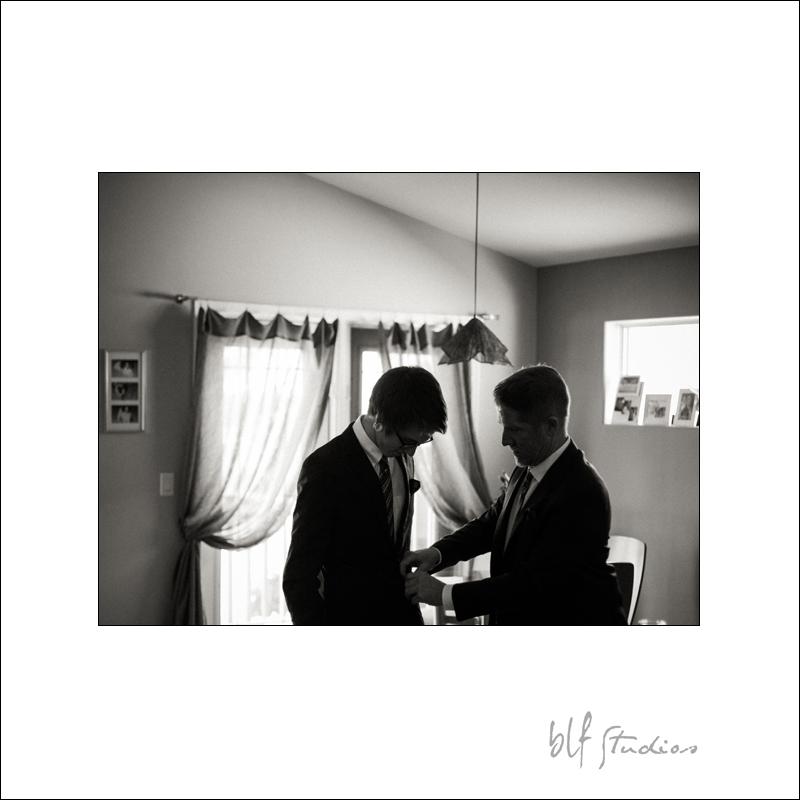 Winnipeg winter wedding photos getting ready