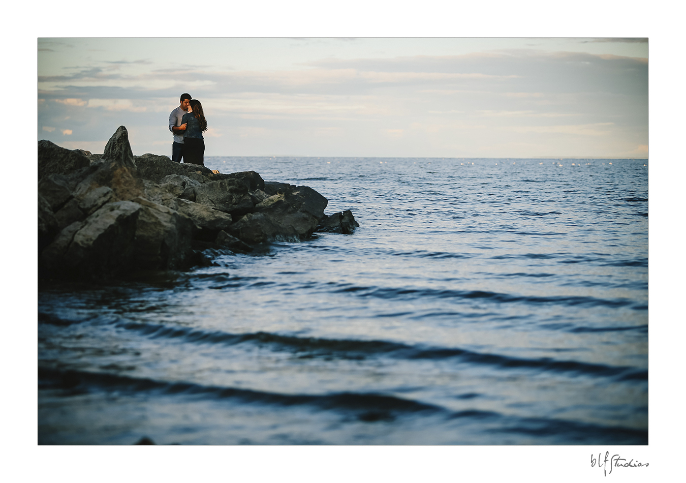Lake Winnipeg engagement photos