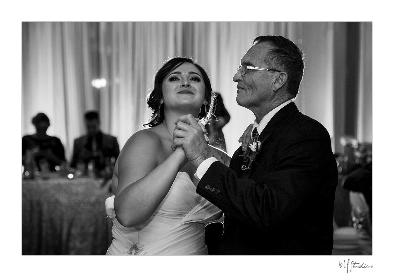 Father Daughter dance at wedding in Winnipeg