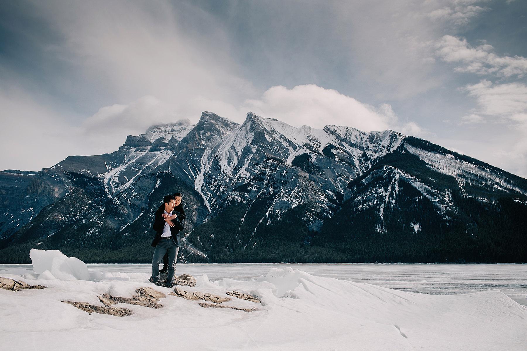 Banff pre wedding photos