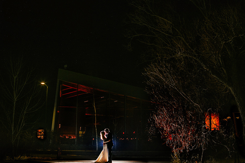 Winter wedding Qualico Family Centre