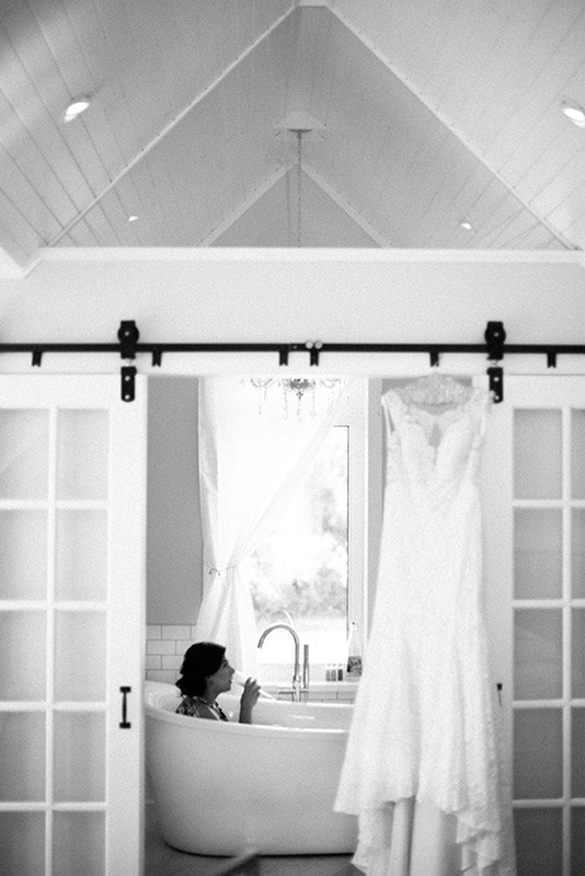 Bride getting ready at Whitetail Meadow