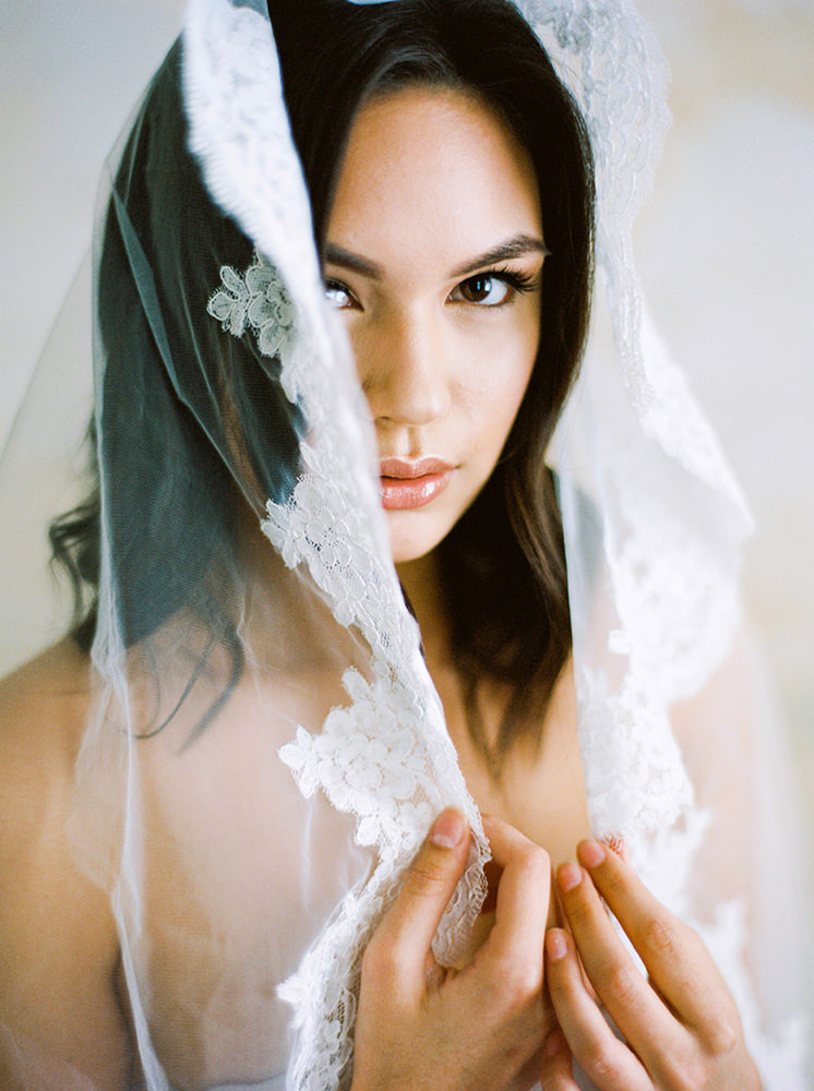 Winnipeg Wedding Photographer veil Boudoir