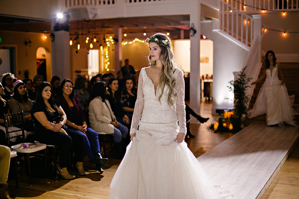 Blue Willow Bridal and Aldo Formal wear fashion show