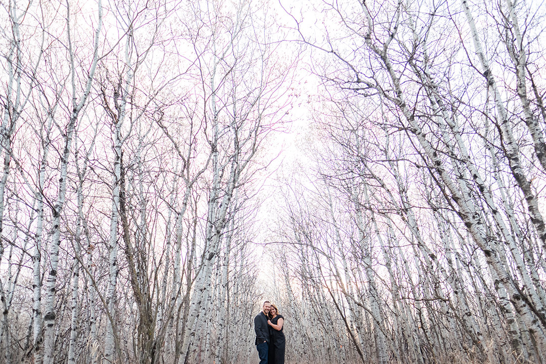 Assiniboine Forest Engagement Photos