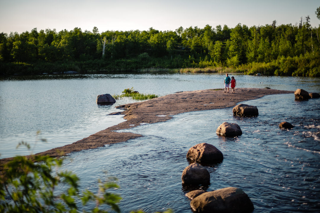 Whiteshell-Manitoba-Winnipeg-blfStudios-Tony-Lake-Sunset-Forest-kids-engaged-engagementshoot-connectionsession-photographer-wedding-weddingphotographer-Chantal-Kevin-ChantalAndKevin_09.jpg