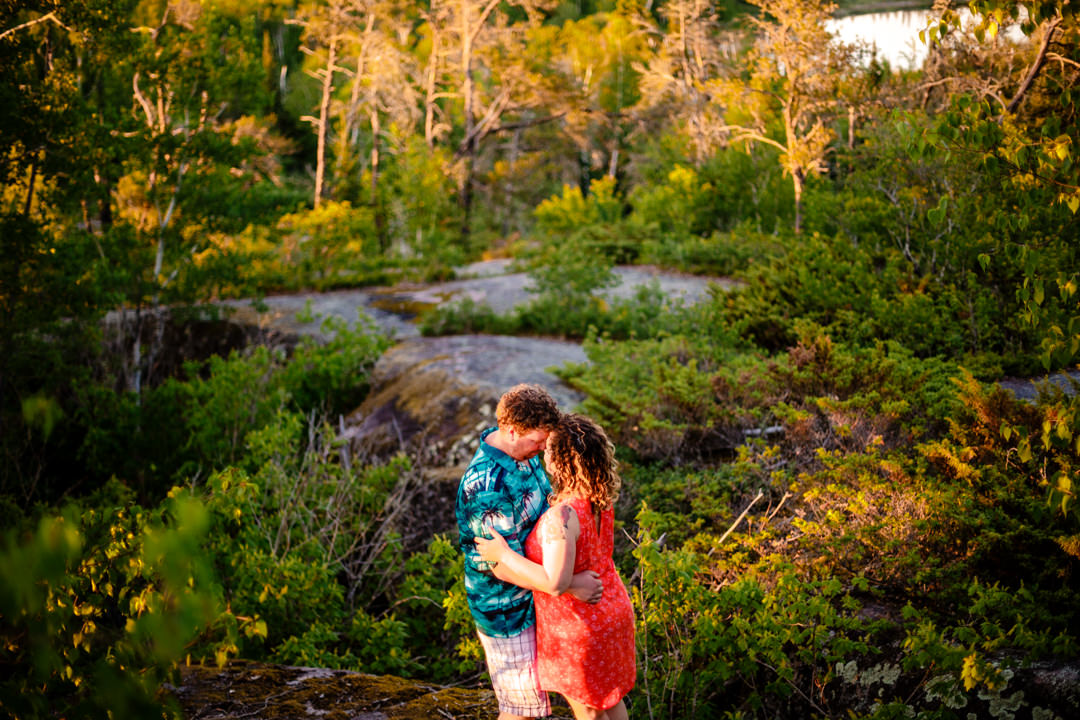 Whiteshell-Manitoba-Winnipeg-blfStudios-Tony-Lake-Sunset-Forest-kids-engaged-engagementshoot-connectionsession-photographer-wedding-weddingphotographer-Chantal-Kevin-ChantalAndKevin_23.jpg