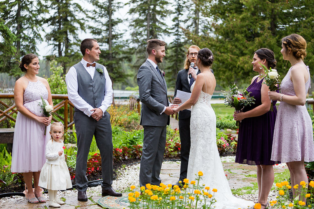 Clear Lake Manitoba Outdoor Wedding Ceremony